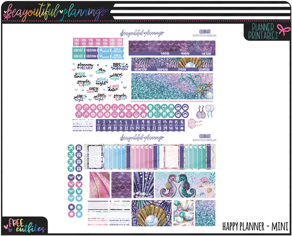 Splash Monthly Printable *Choose Your Planner*