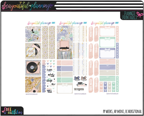 Ashley Weekly Printable *Choose Your Planner*