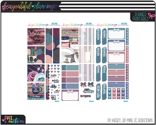 Once Upon Weekly Printable *Choose Your Planner*