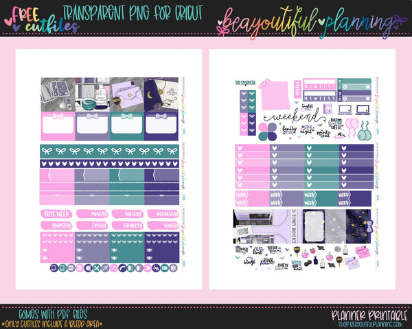 Seeker - Weekly Planner Printable -Choose from - Vertical - Horizontal/PP Weeks/MiniHP - Hobo Weeks
