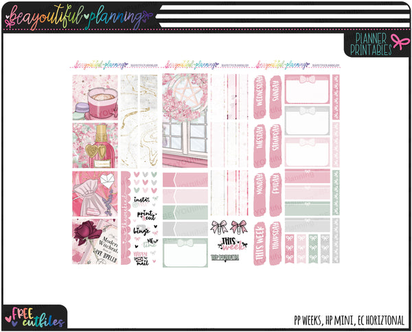 Love Spell Weekly Printable *Choose Your Planner*