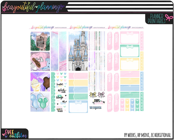 Magic Weekly Printable *Choose Your Planner*