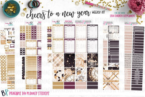 Cheers to a New Year Printable