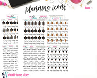 Planner Icons Volume 2 Printable