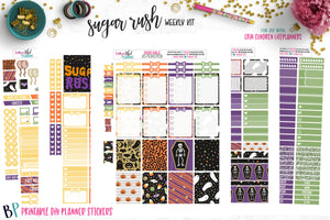 Sugar Rush Weekly Printable
