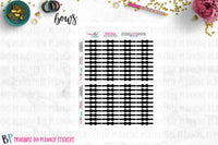 Bow Dividers Foil Ready Printable