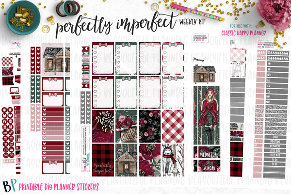 Perfectly Imperfect Weekly Printable