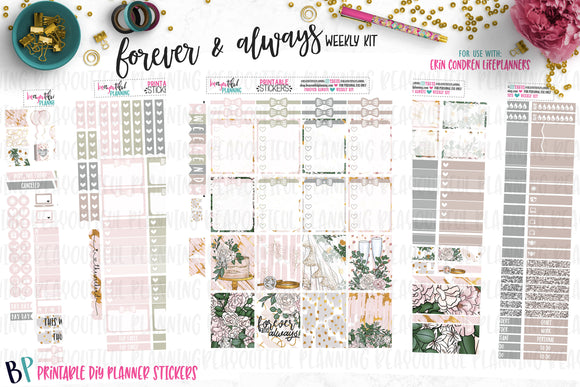 Forever & Always Weekly Printable