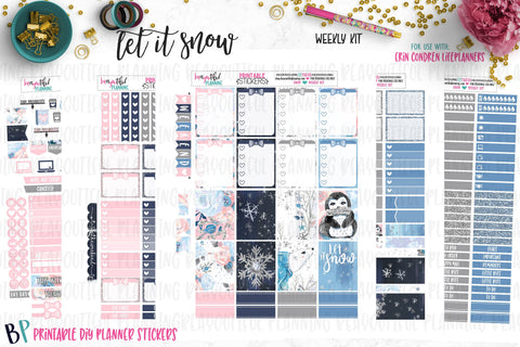 Let it Snow Weekly Printable