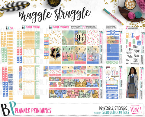 Muggle Struggle Weekly Printable