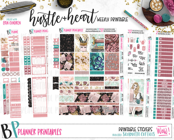 Hustle + Heart Printable