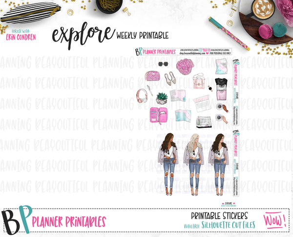 Explore Weekly Printable