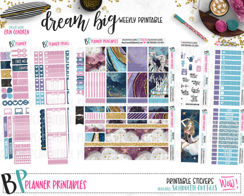 Dream Big Weekly Printable