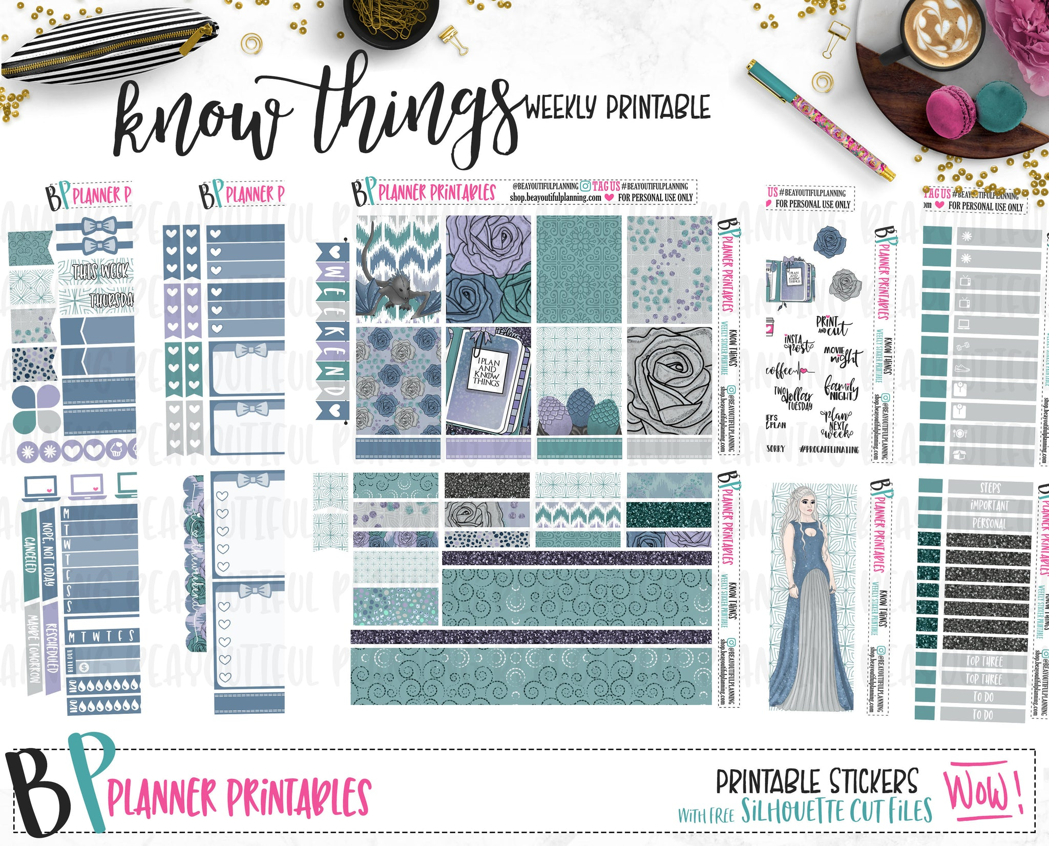 Know Things Weekly Printable