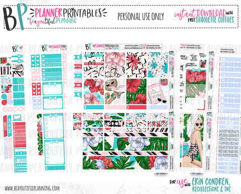 Getting Tanned, Making Plans Printable