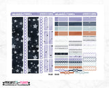 Star Gazer Printable Planner Stickers