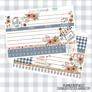 Thankful - Monthly Printable