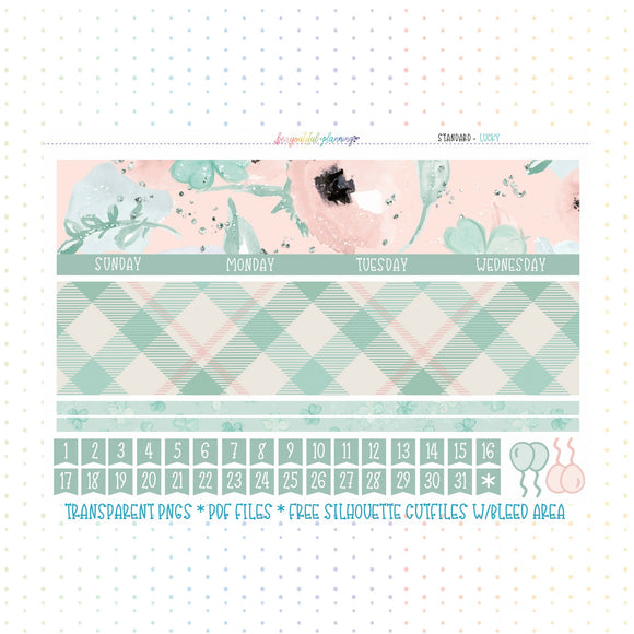 Lucky - Monthly Printable *Choose Your Planner*