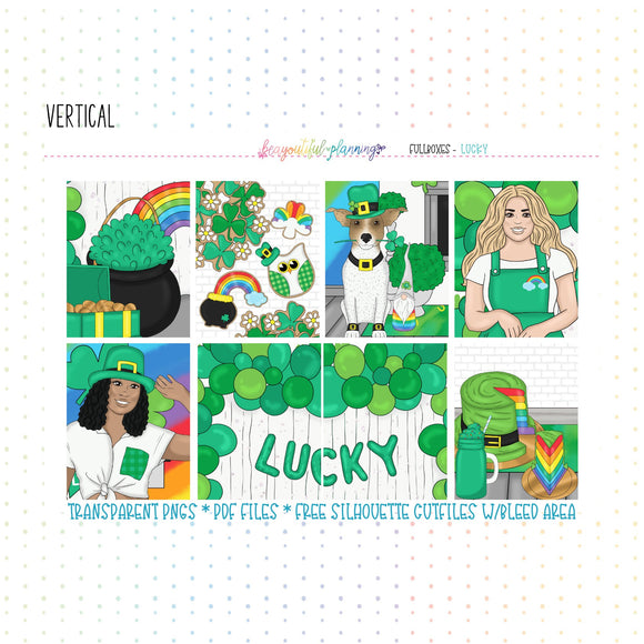 Lucky - Weekly Planner Printable