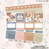 Hello Fall - Weekly Planner Printable -Choose from - Vertical - Horizontal/PP Weeks/MiniHP - Hobo Weeks