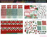 Magical Christmas - Weekly Planner Printable -Choose from - Vertical - Horizontal/PP Weeks/MiniHP - Hobo Weeks