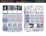 Halloween Bride - Weekly Planner Printable -Choose from - Vertical - Horizontal/PP Weeks/MiniHP - Hobo Weeks
