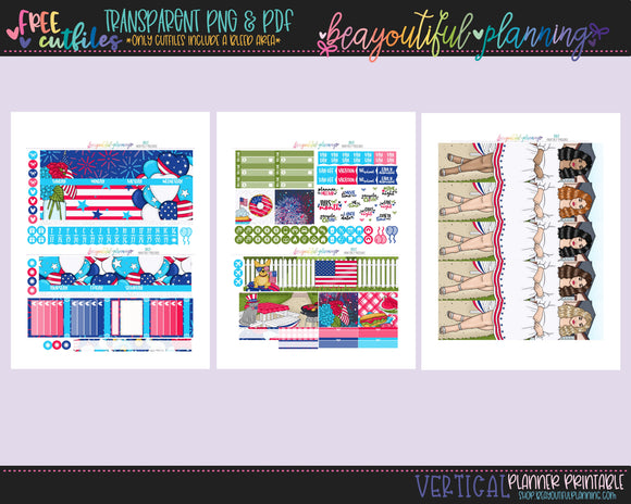 July Freebie - Monthly