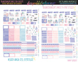 Let It Snow - Weekly Planner Printable *Choose Your Planner*