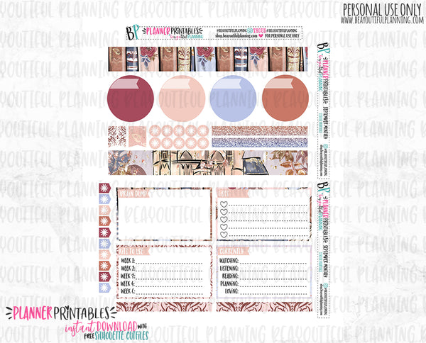 September Notes Page Printable