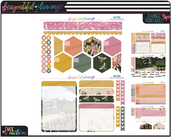 Hello Spring Notes Page Printable