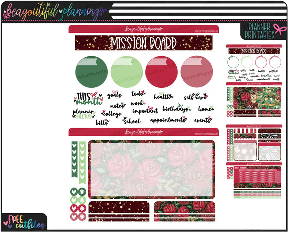 Christmas Notes Page Printable