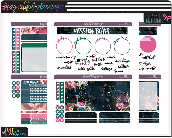 Destiny Notes Page Printable