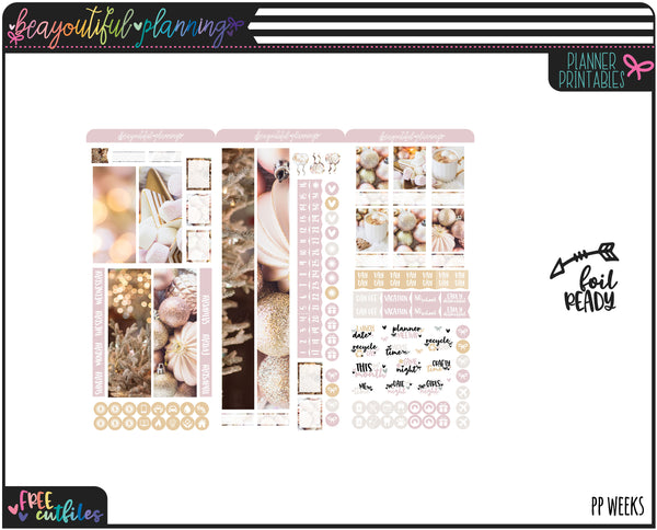 December Real Photo Monthly Printable *Choose Your Planner*
