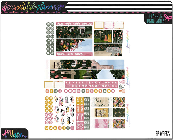 Hello Spring Monthly Printable *Choose Your Planner*