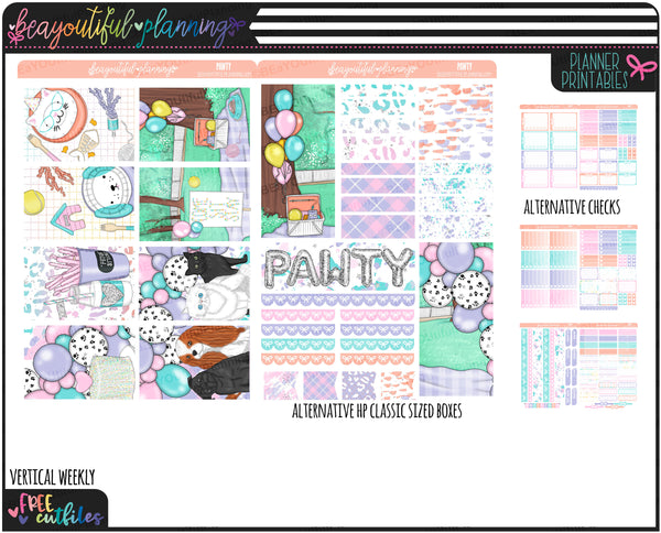 Pawdy Weekly Printable *Choose Your Planner*