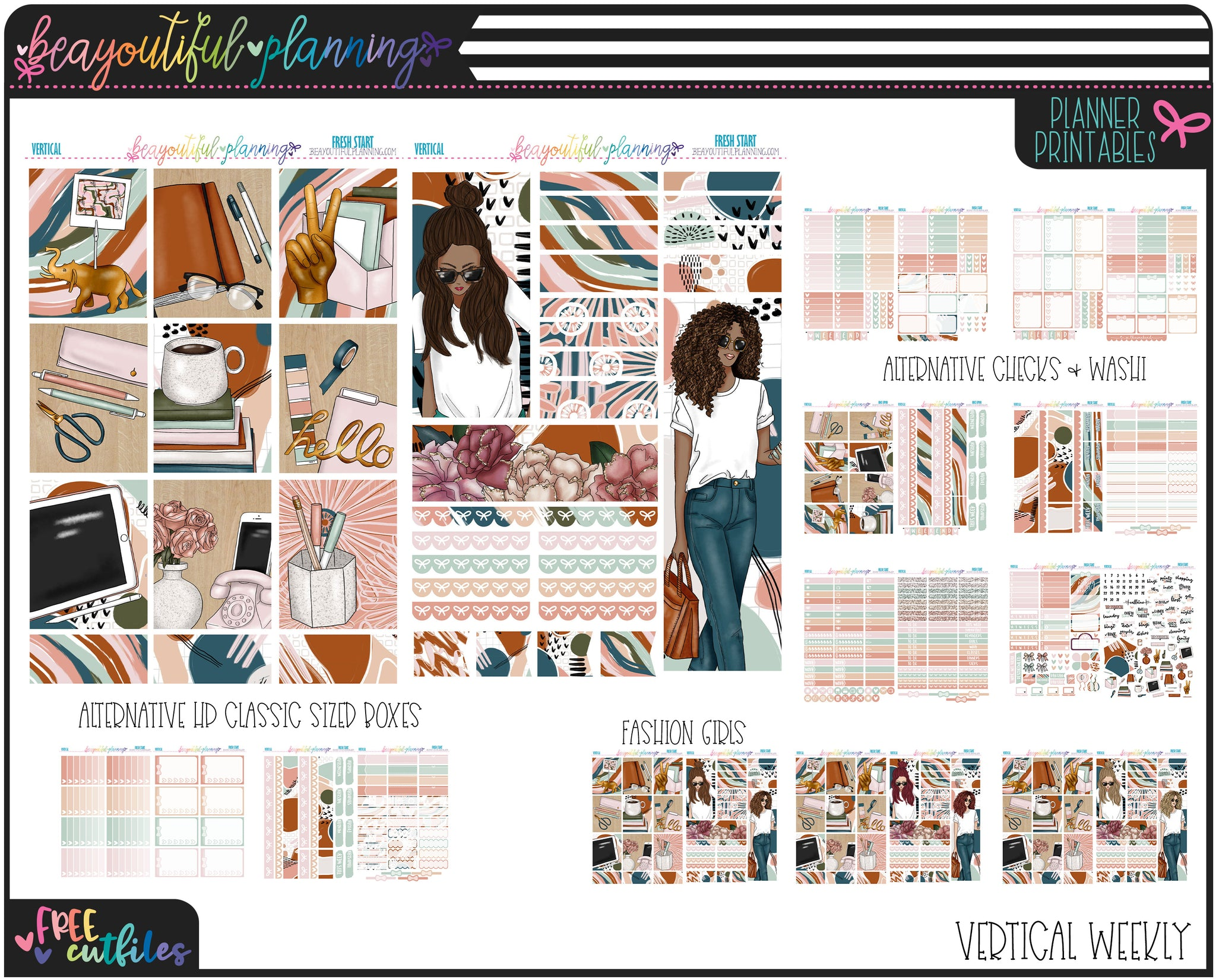 Fresh Start Weekly Printable *Choose Your Planner*