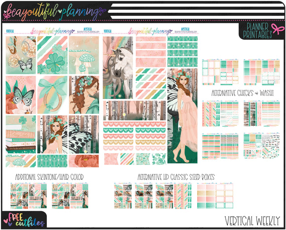 Mystical Weekly Printable *Choose Your Planner*