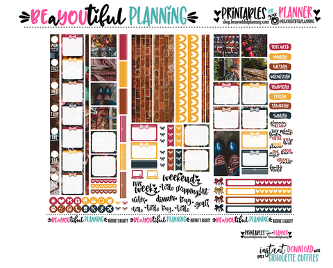 Nature's Beauty Hobonichi Weeks Printable
