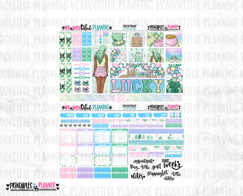 Pinch Proof Hobonichi Weeks Printable
