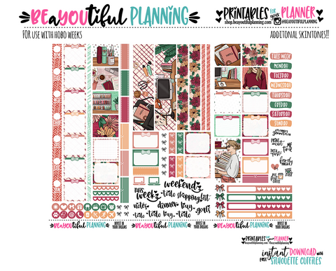 Invest in your Dreams Hobonichi Weeks Printable