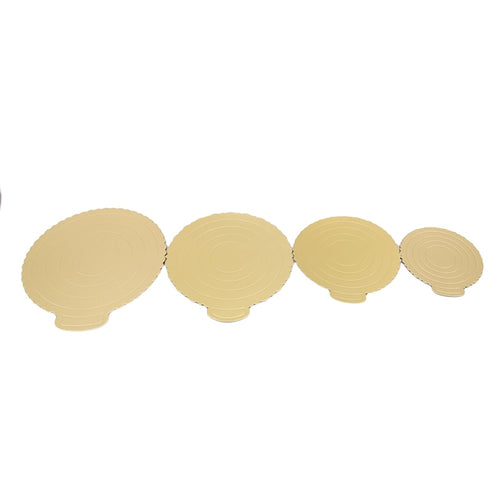 Deluxe Cake Board Rond | Goud