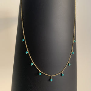dancing beads neacklace