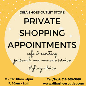 Schedule a Private Shopping Appointment.