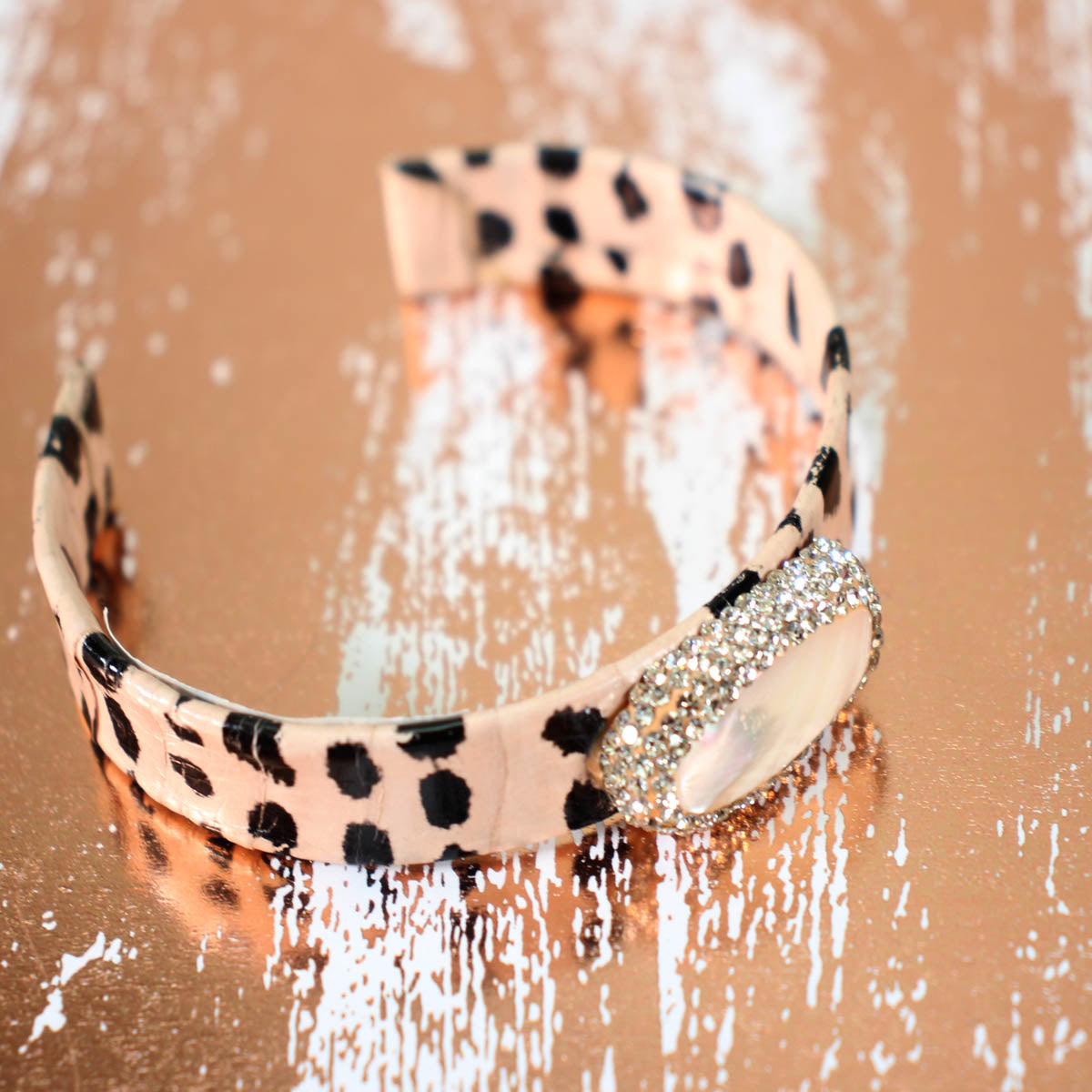 exotic jewel cuff bracelet- more prints