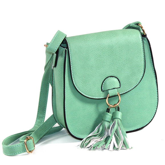 Cross-body with tassels- Multiple Colors