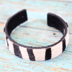 Pony Hair Cuff-Slim- more colors