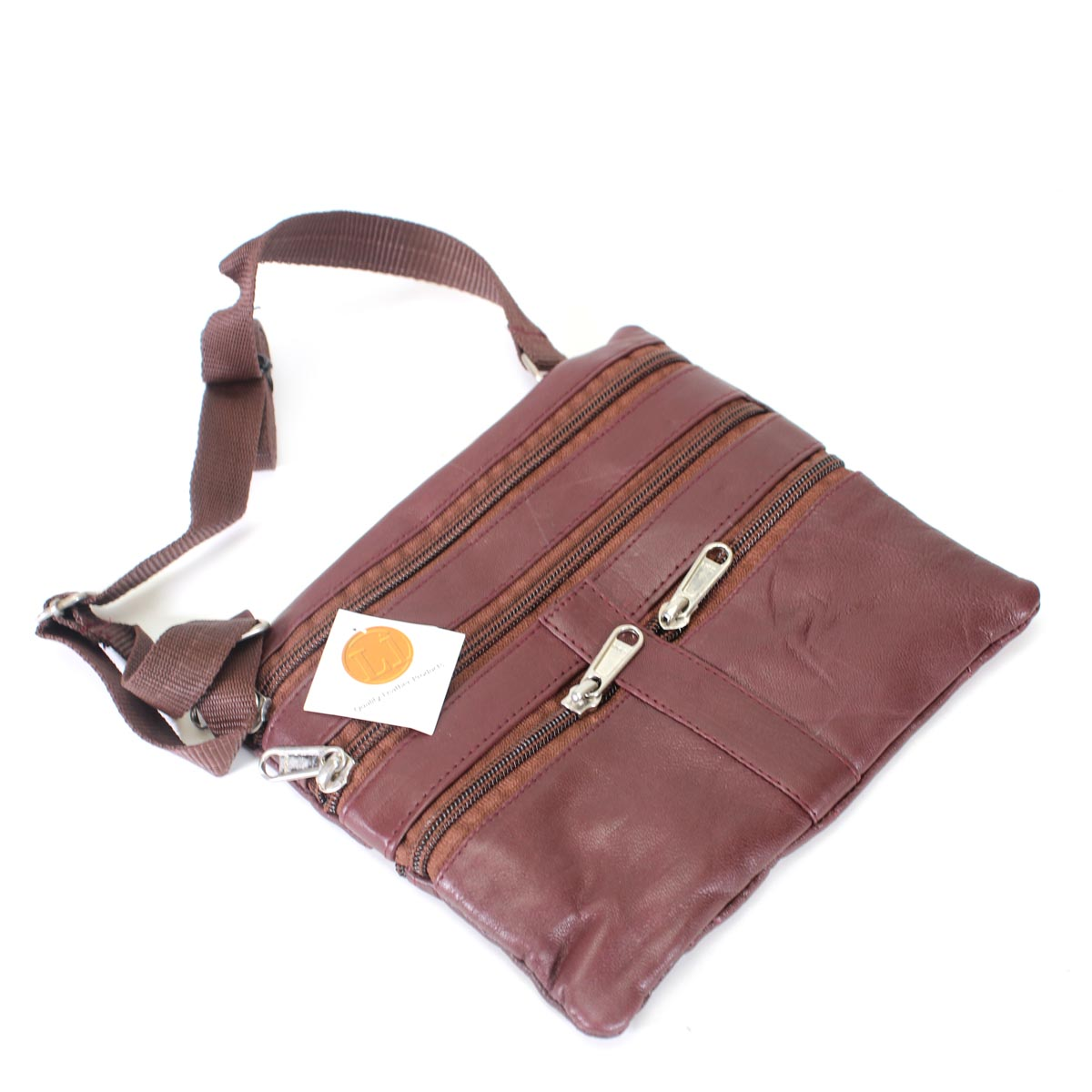 Leather slim crossbody- more colors