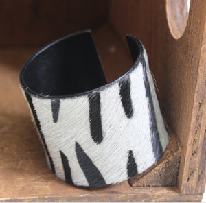 Pony Hair Cuffs Large