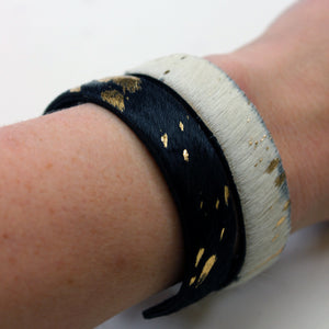 Pony Hair Cuff-Slim