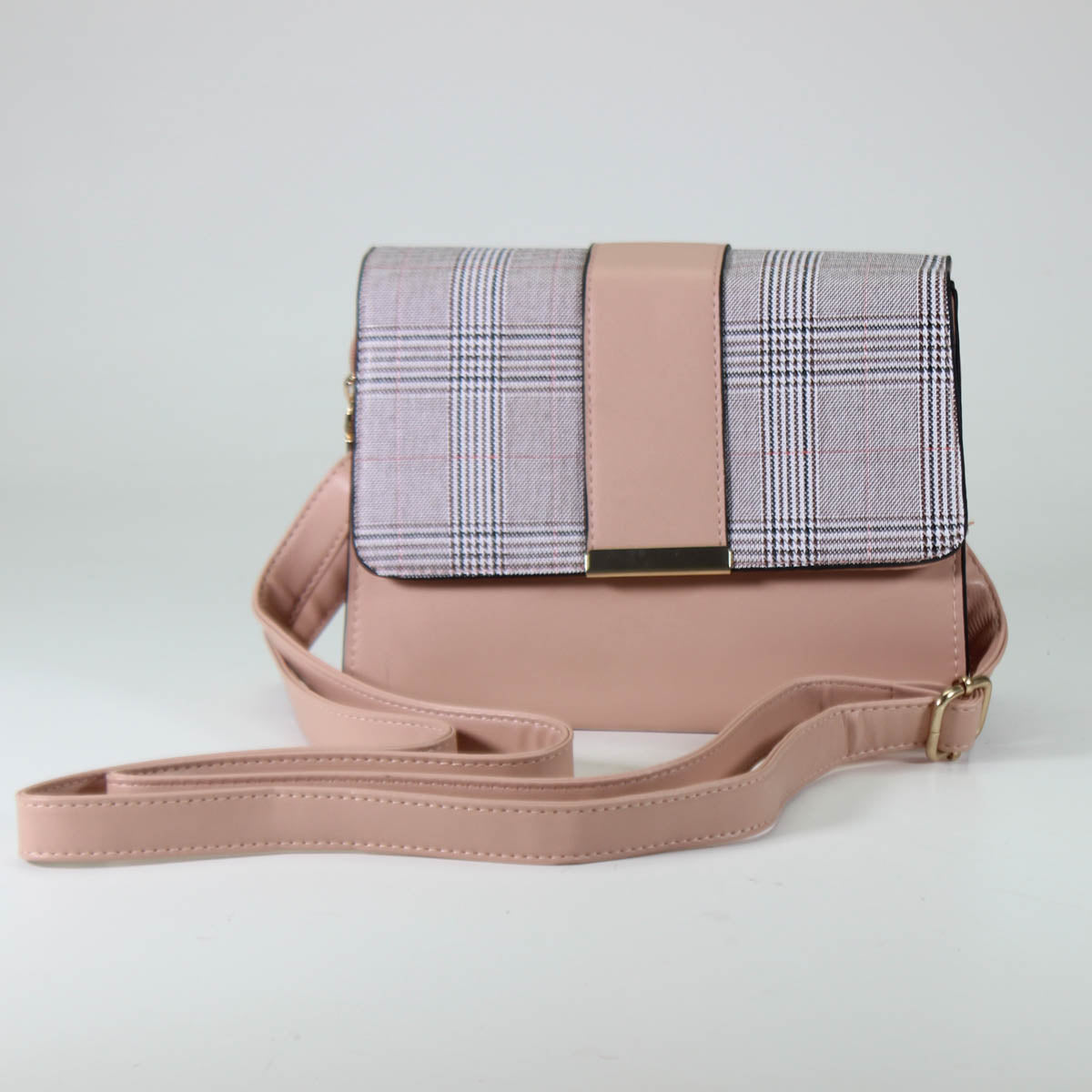 Plaid Purse
